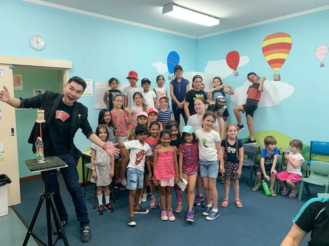 Magician for Kid's Party