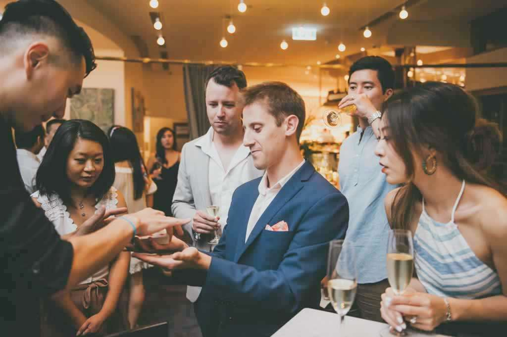 Magician Show for Wedding reception and party